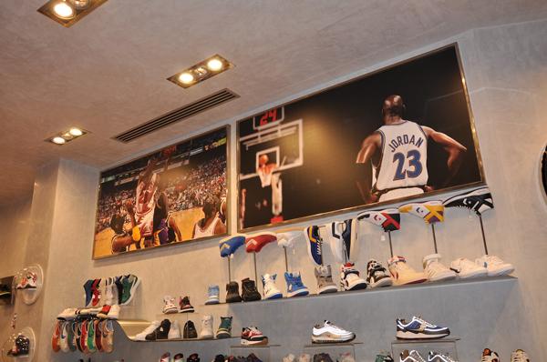 basket nike store